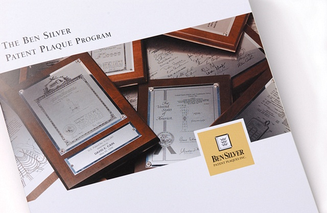 Patent Plaque Catalog