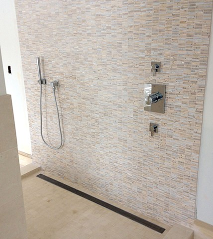 Shower Feature Wall
