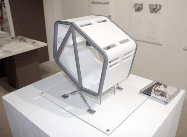 Mountain Pod - rapid prototype model