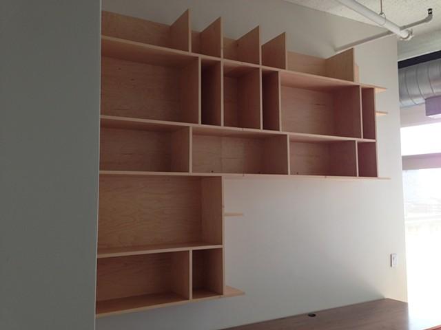 Wall Display Shelves