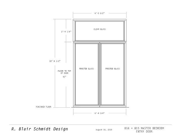 Unit 815 + 816 Custom Door