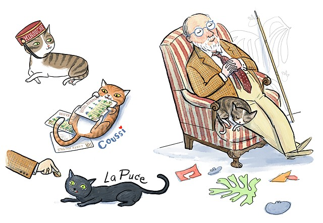 Artists and Their Pets Matisse and his cats