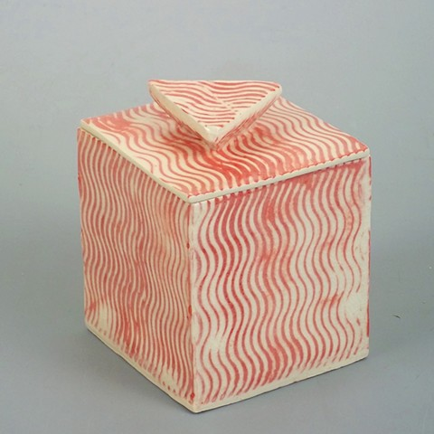 Red Striped Box