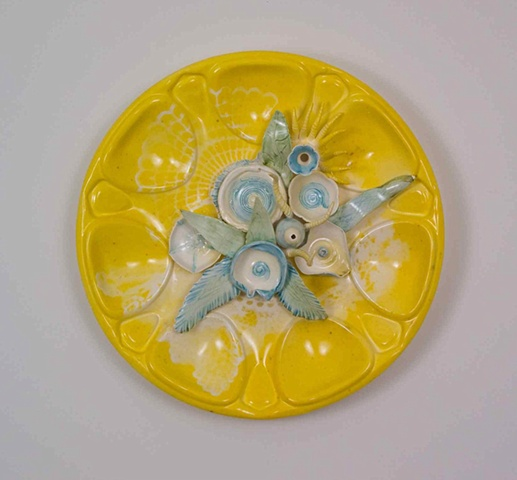 Yellow Hubcap