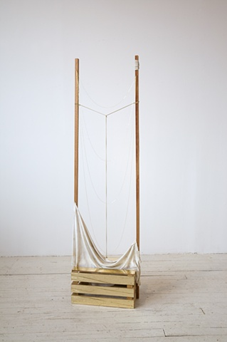 Untitled (Gold Crate), 2011