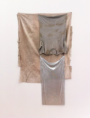 Untitled, (Grey velvet), 2013