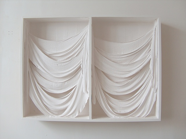 Untitled (Double Drape Box), 2011