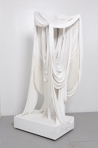 Untitled (Plaster and Fringe, Asta Nielsen), 2012