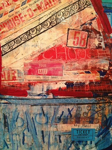 My Blue Boat (detail)