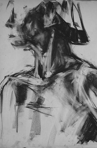 Figure study (shoulders)