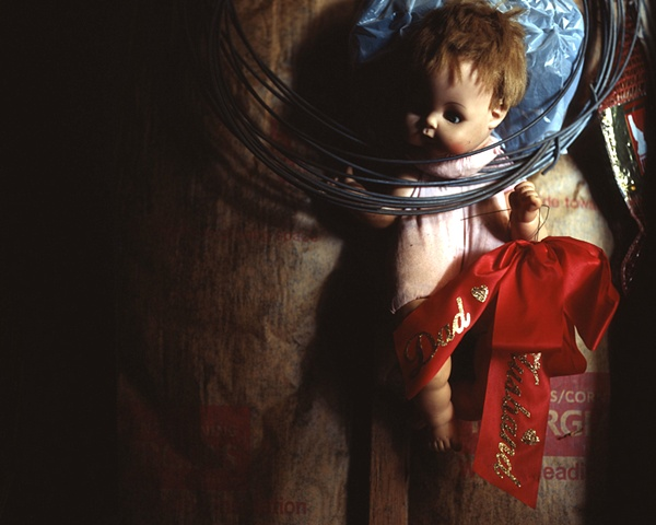 Doll with Grave Ribbon