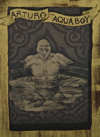 Arturo the Aqua Boy (detail)
