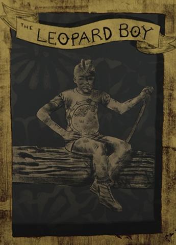 The Leopard Boy (detail)