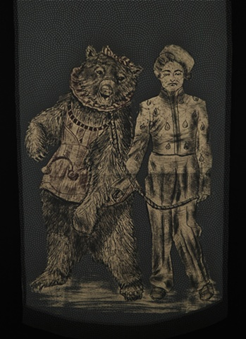 The Bear Trainer (detail)