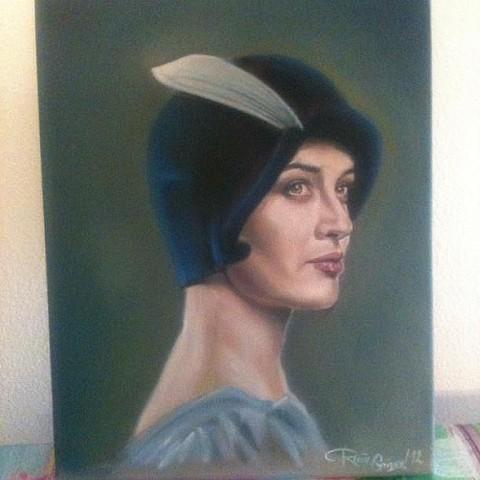 portrait flapper
