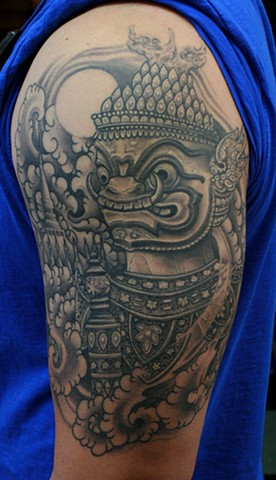 Temple Guard Tattoo