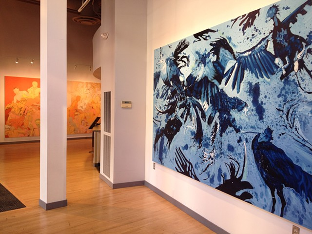 Exhibition image from ArtsWest, Seattle