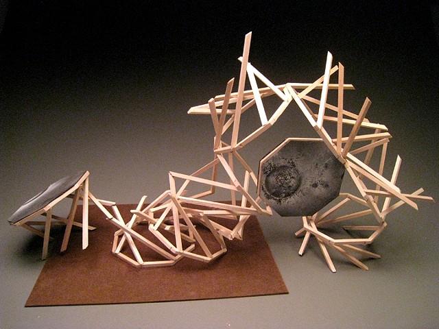 Wood Sculpture #6 - Modular Design