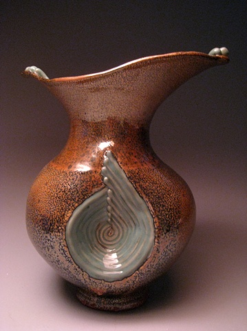 Coil Pinch Vase #6
