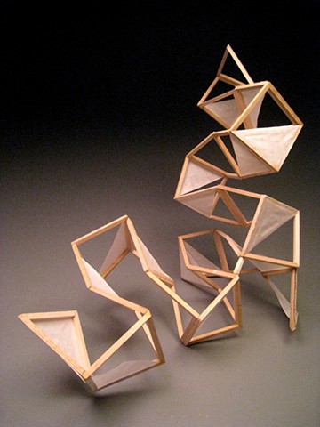 Wood Sculpture #5 - Modular Design