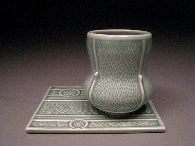 Water Drop Cup & Saucer IV