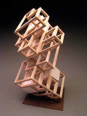 Wood Sculpture #4 - Modular Design