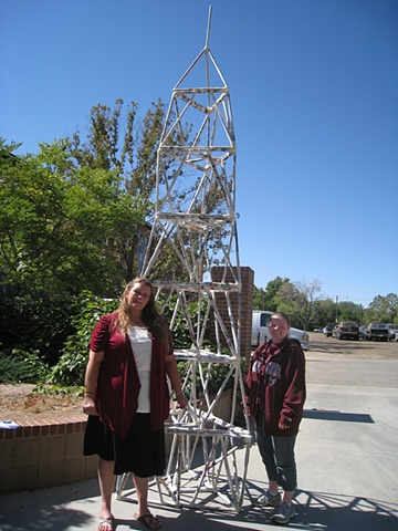 Newspaper Tower Project #1