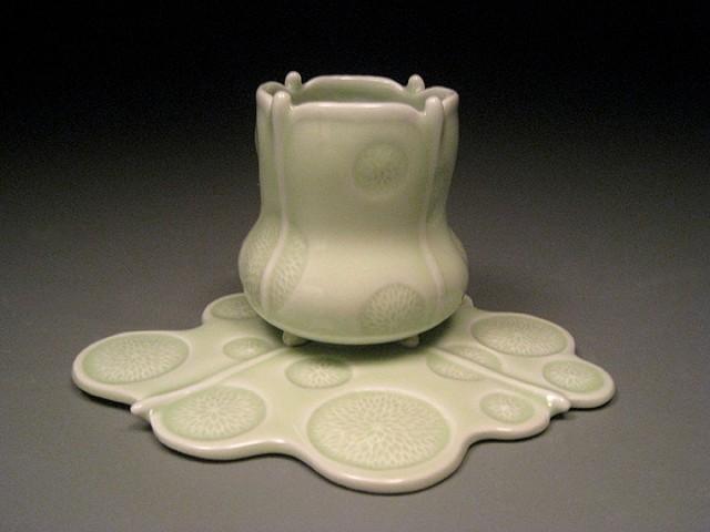 Water Drop Cup & Saucer III