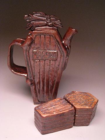 Slab Teapot set #3