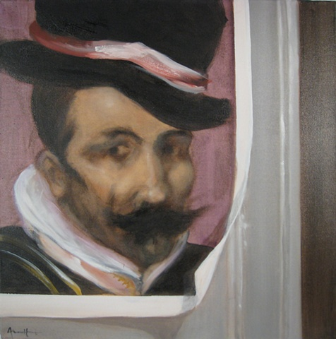 velazquez, mustache, aegean center for the fine arts, paros, greece