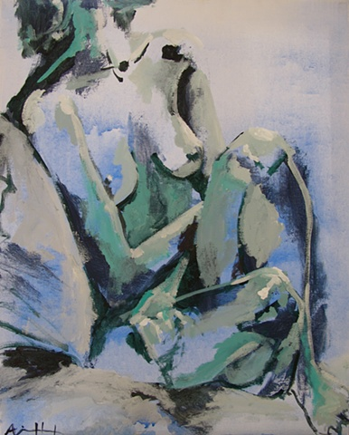 nude, blue, picasso