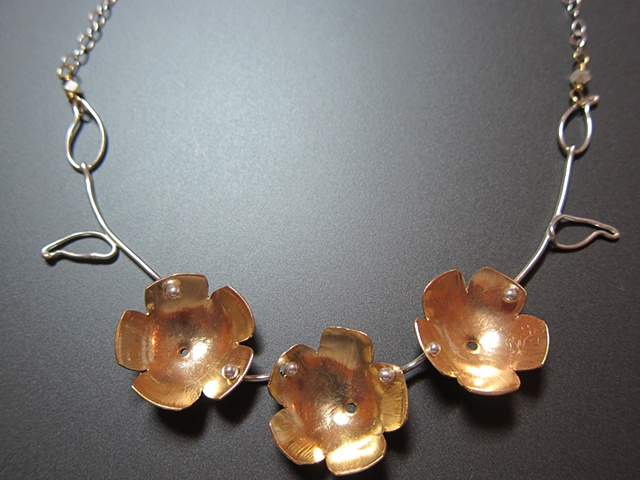 sterling, sterling silver, brass, flower, poppy, botany