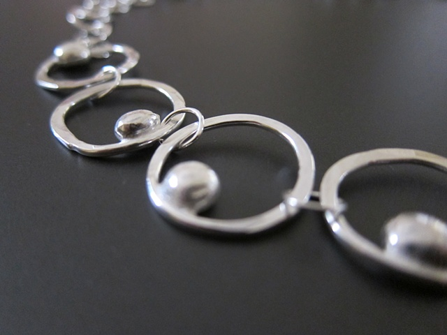 sterling, sterling silver, argentium, cosmic, little moons