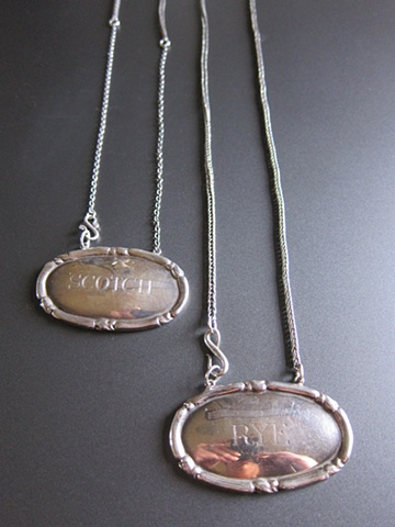 IN Liquor Tag Necklace