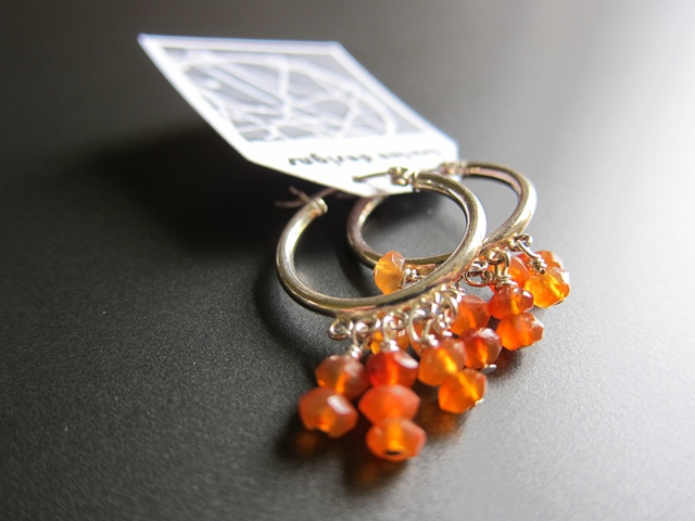 CH Carnelian Earrings