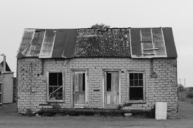 andice texas black and white photograph