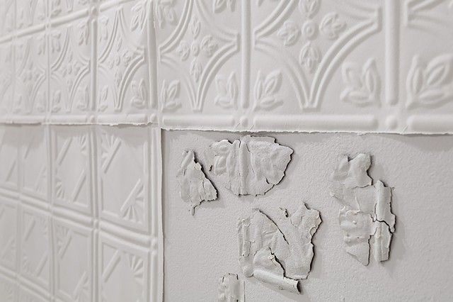Relic: Pressed Tin Ceiling (detail)