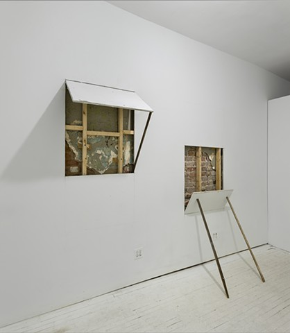 Window Study: East 3rd Street Reveal I and II