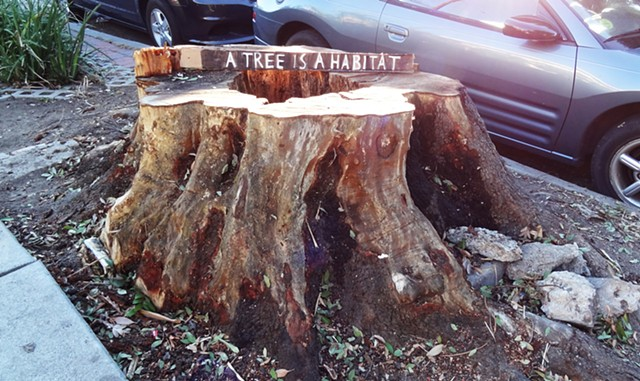 environmental art, signs, los angeles, elkpen