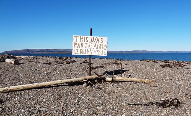 elkology, nova scotia, continetal drift, plate tectonics,elkpen, signs