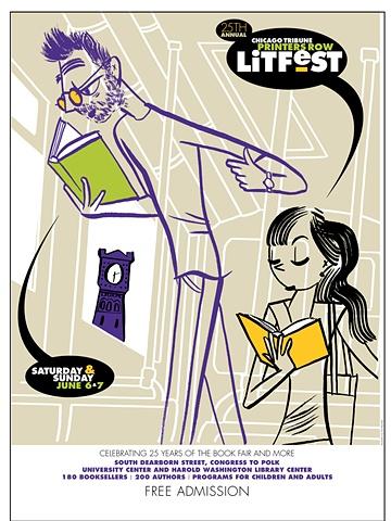 LitFest 2009 Poster