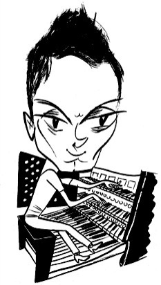 Cameron Carpenter by Tom Bachtell; The New Yorker; Rebecca Mead