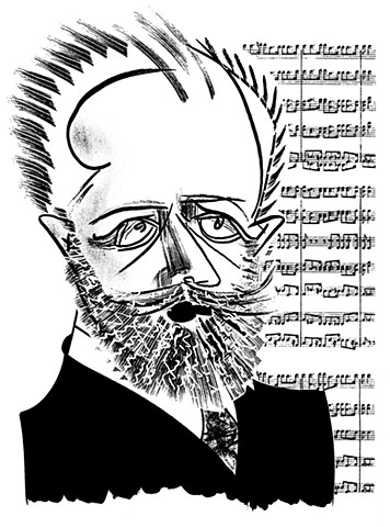 Tchaikovsky by Tom Bachtell