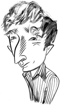 John Updike by Tom Bachtell; The New Yorker