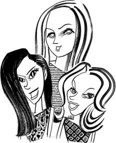 Those Huntsman Girls