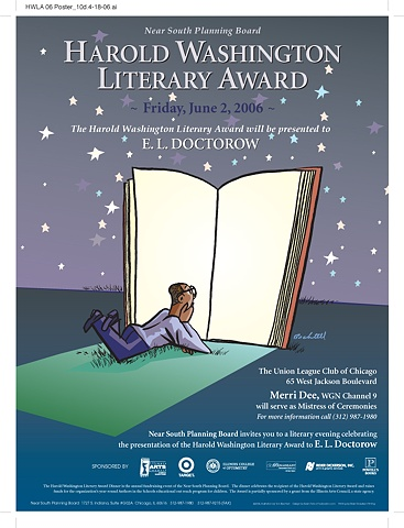 Harold Washington Literary Award Poster, 2006