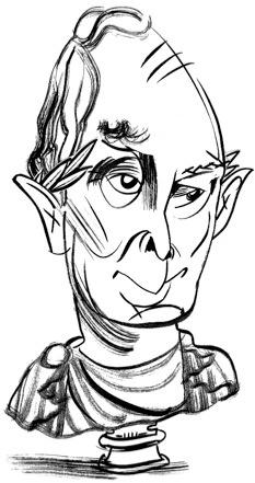 Mayor Michael Blooberg by Tom Bachtell; The New Yorker; Hendrik Hertzberg