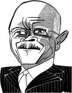Tom Bachtell + Herman Cain + David Remnick + The New Yorker