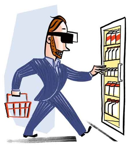 Savvy Shopper Blinders On