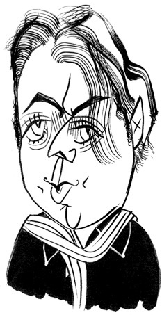 Christopher Hitchens by Tom Bachtell; The New Yorker; Lauren Collins